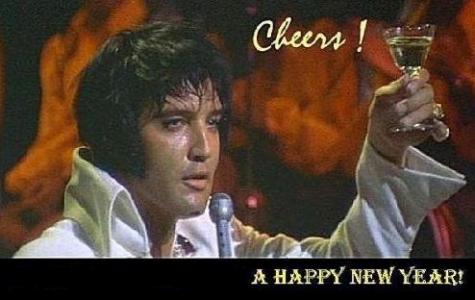 HAPPY NEW YEAR  ELVIS